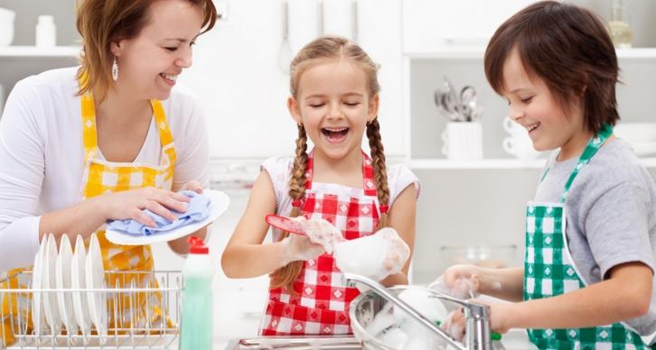Как научить своих детей порядку и чистоте в доме?