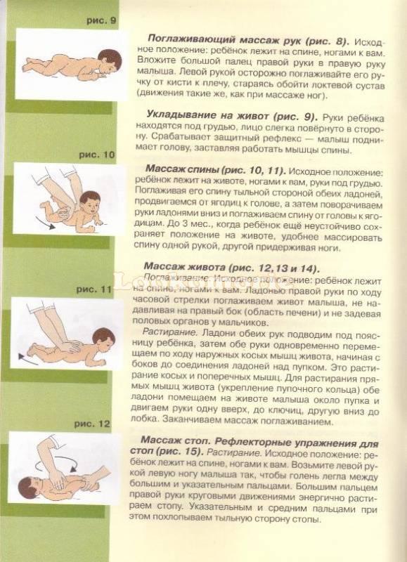 Лечебный массаж и гимнастика в раннем детстве
