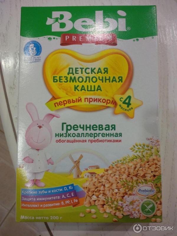 Введение прикорма: гречневая каша- энциклопедия детское питание