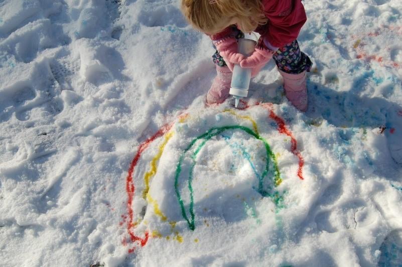 Что интересного можно делать с ребенком зимой на улице и дома?