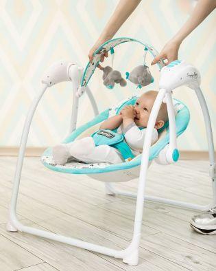 Электрокачели для новорожденных: преимущества и недостатки, особенности выбора