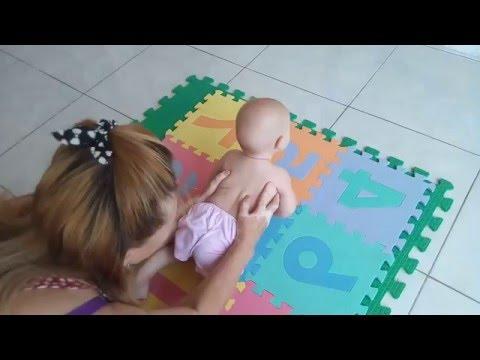 Как научить ребенка ползать   уроки для мам