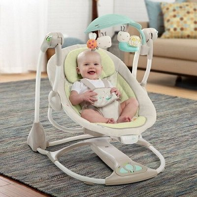 Электрокачели для новорождённых: их преимущества и недостатки