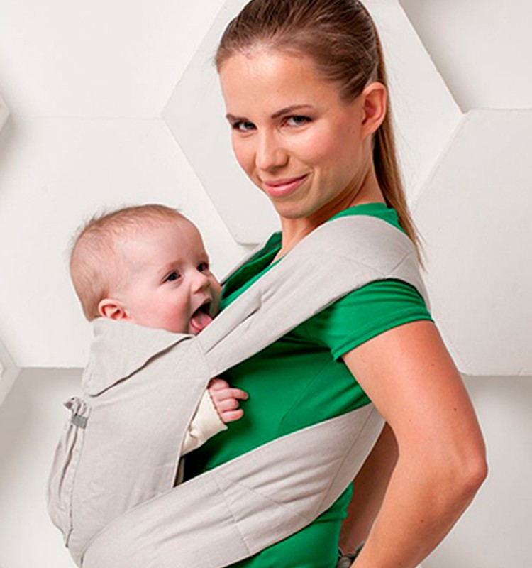 Слинг для новорожденных от 0 до 6 месяцев | уроки для мам