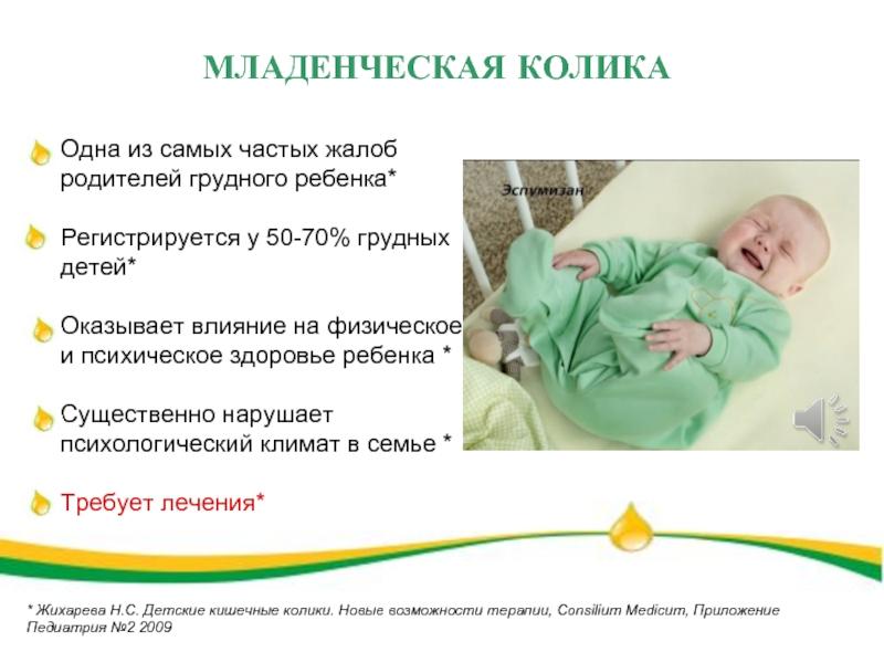 Если у ребенка болит живот