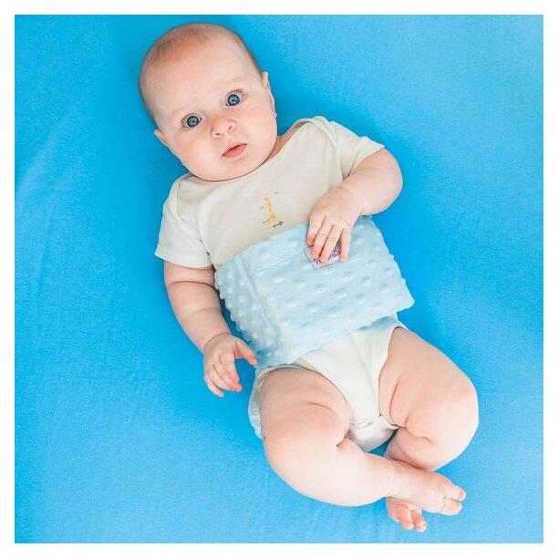 Пояс от коликов для новорожденных | уроки для мам