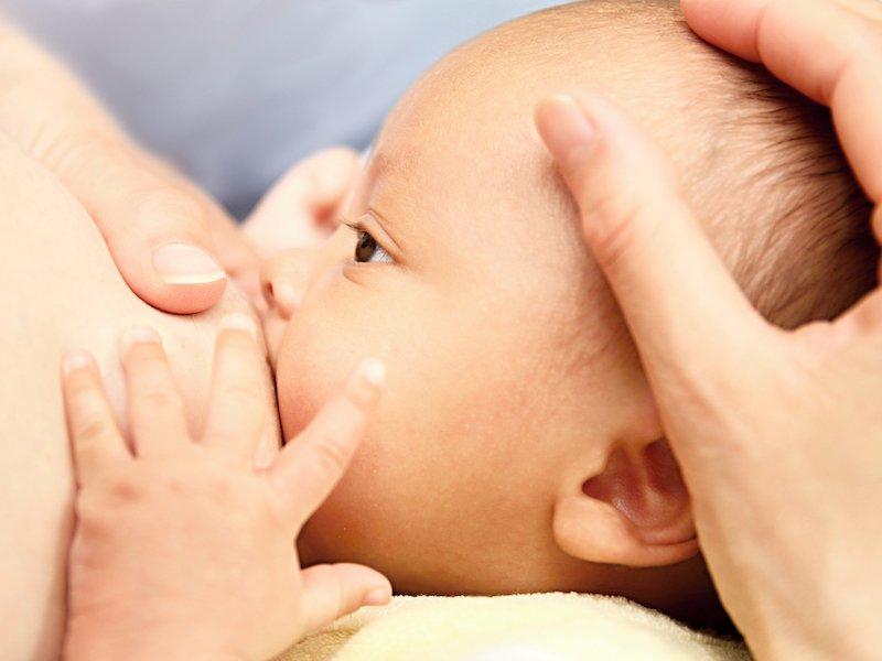 Новорожденный ребёнок постоянно висит на груди: что это значит?
