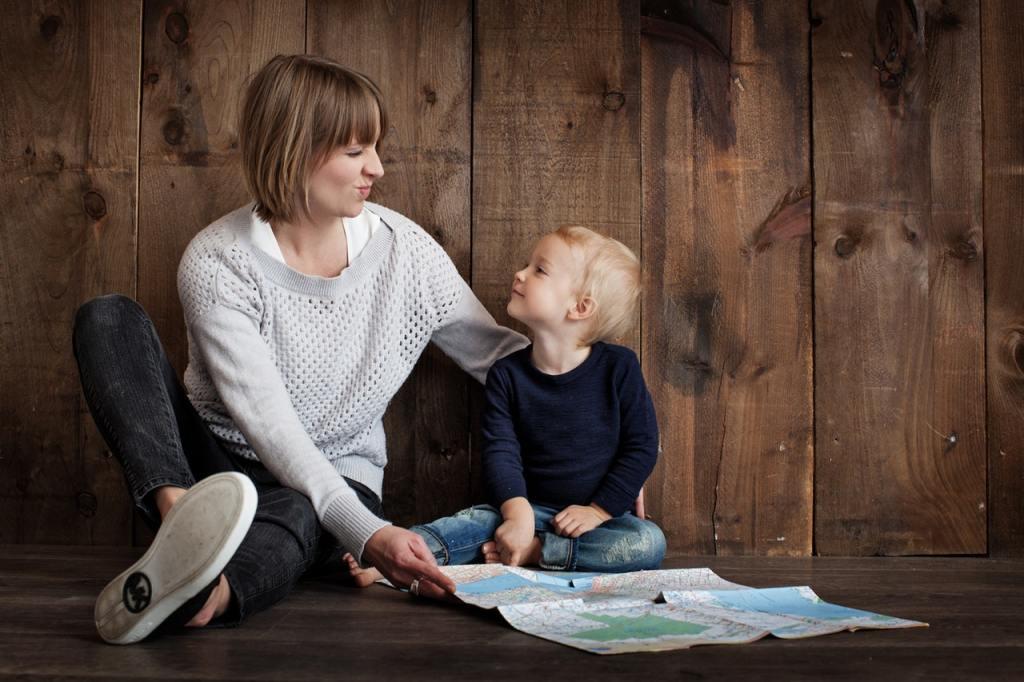 Воспитание ребенка 1 год