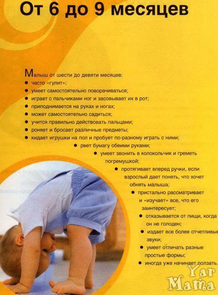 Развитие ребенка в 7 месяцев: что должны уметь мальчик и девочка, нормы роста и веса, а также особенности питания и какие игрушки подходят