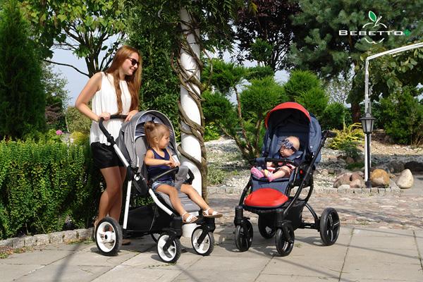 Как выбрать коляску для новорожденного: осень-зима