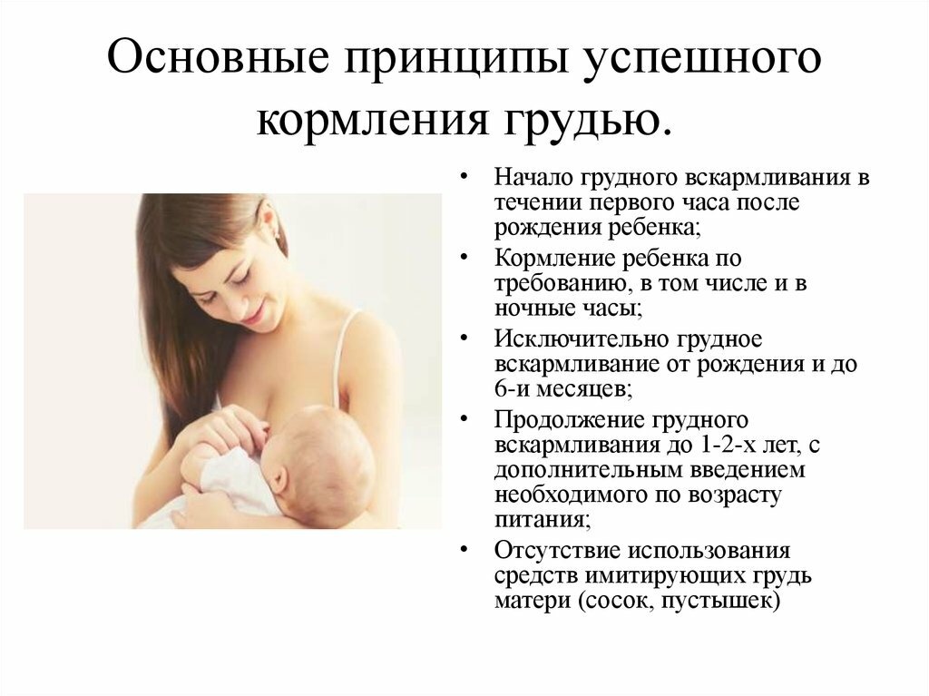 Способы завершения грудного вскармливания - agulife.ru