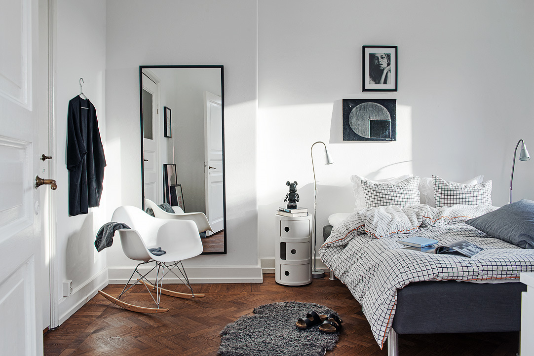 Где повесить зеркало в спальне, гостиной, детской | houzz россия