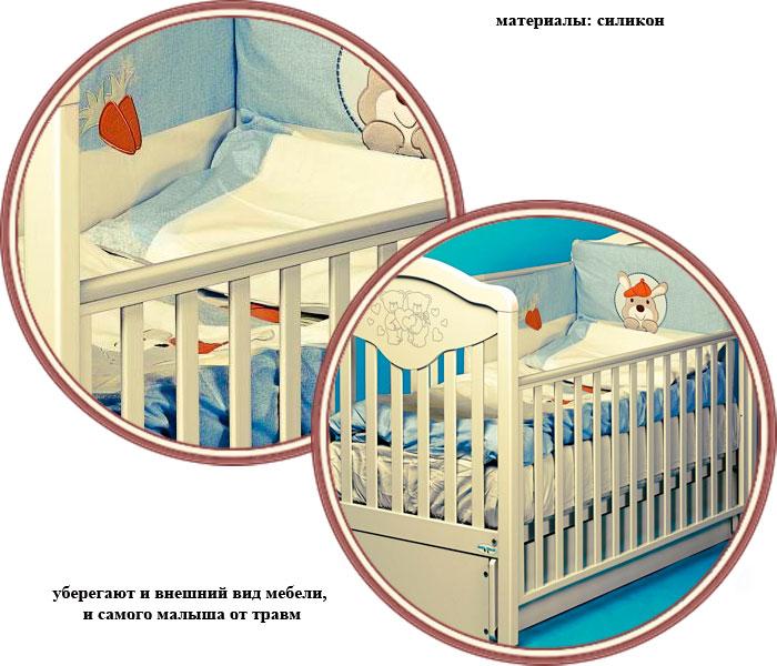 Стандартные размеры детской кроватки. размеры детских кроваток для новорожденных, выбираем свой