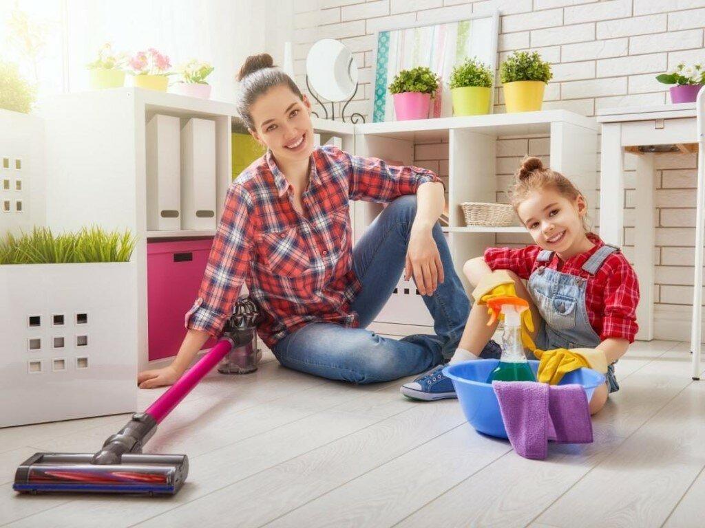 5 советов, как поддерживать дома порядок с детьми (и не сойти с ума) - мамсила