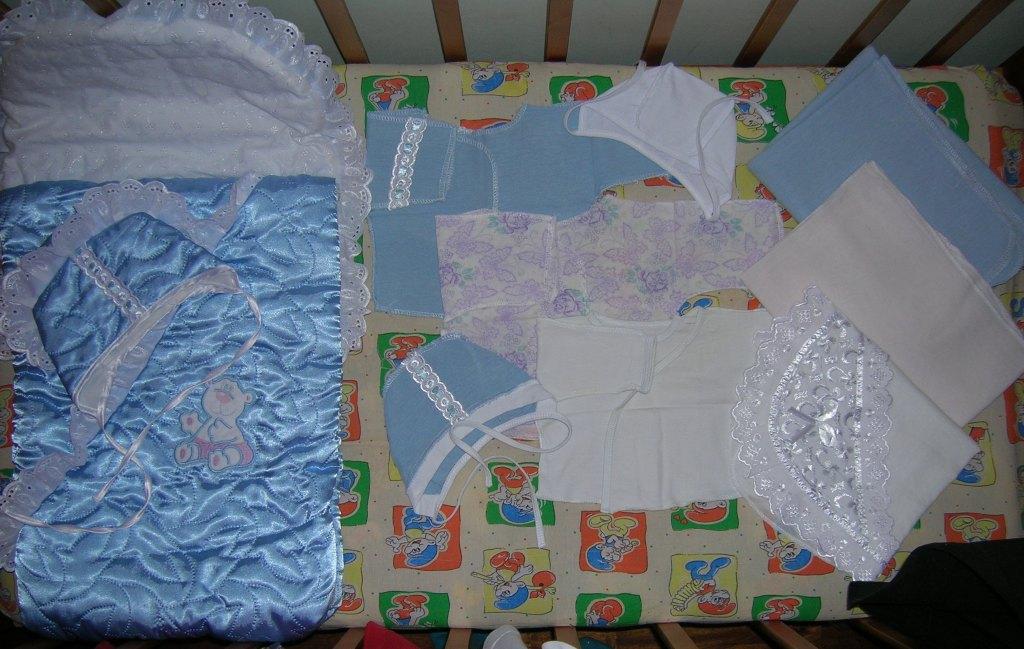 Какого размера должны быть пеленки для новорожденных?