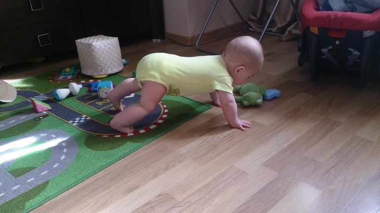 Как научить малыша ползать? советы и упражнения