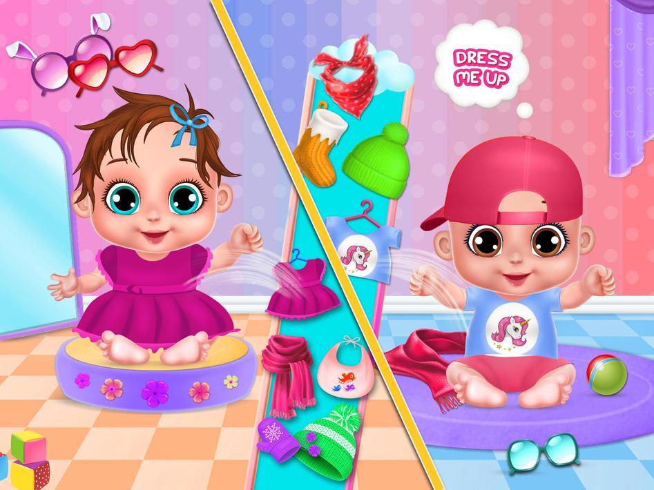 Игры уход за малышами – играть онлайн бесплатно!
