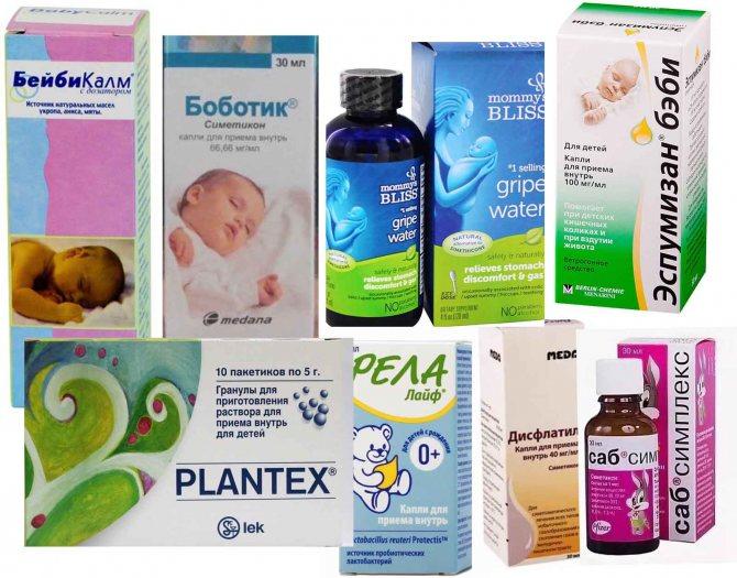 Кишечные колики у новорожденных: симптомы и лечение