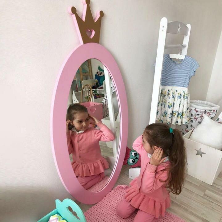 Можно ли младенцу смотреться в зеркало