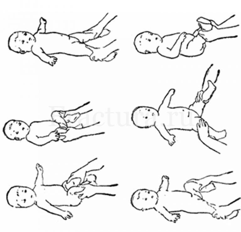 Укрепляющий массаж для детей – как делать новорожденному ребенку?