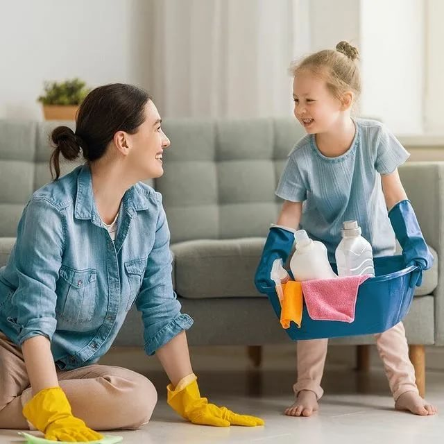 Правила и особенности уборки в детской комнате