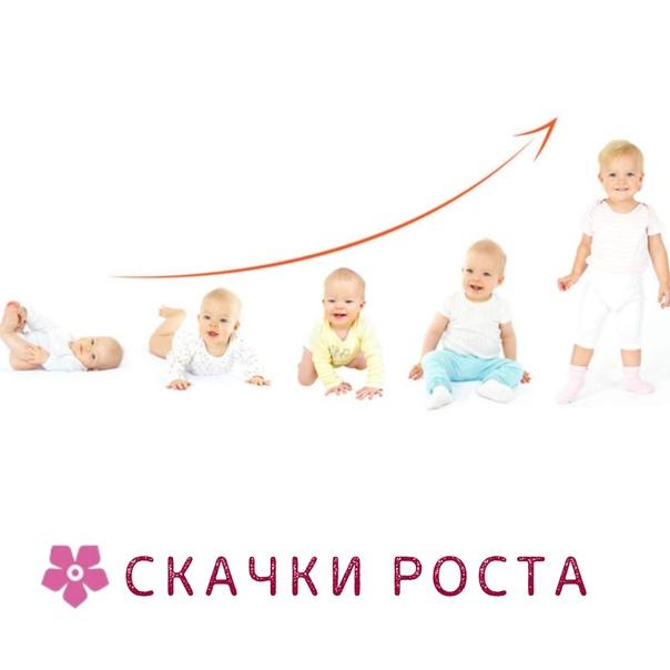 Скачок роста в 6 месяцев | уроки для мам