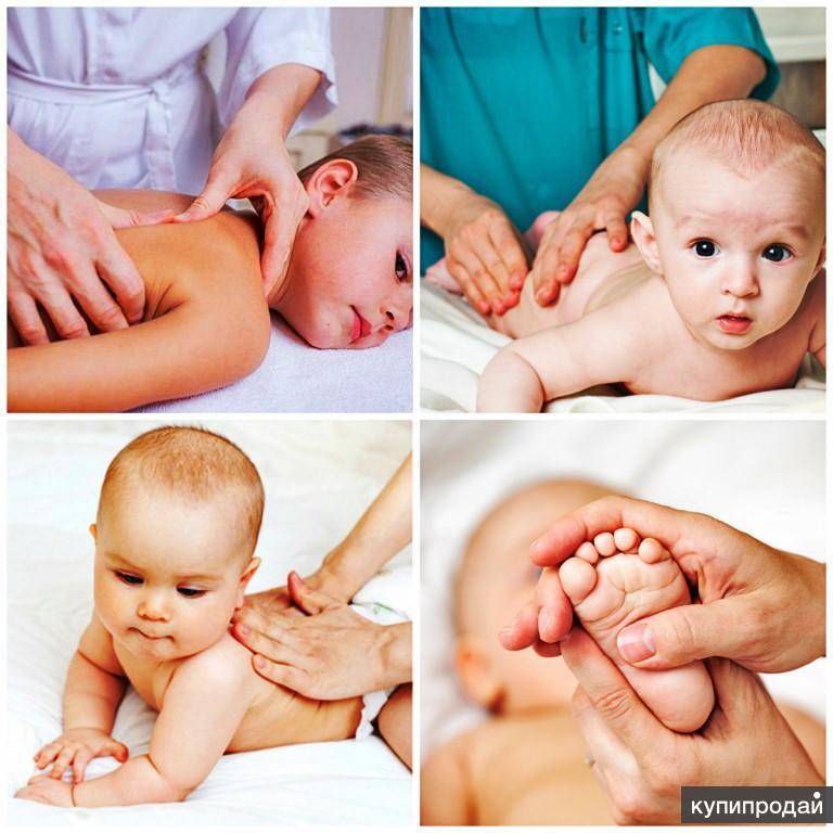 Массаж для новорожденных и грудничков: зачем и когда назначается