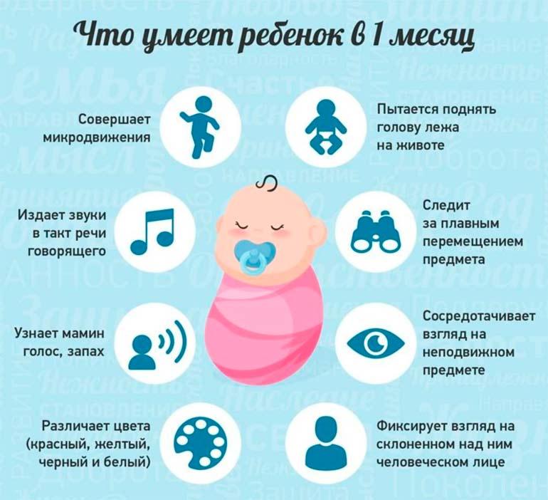 Главные особенности развития ребенка в 7 месяцев