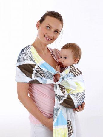 Как правильно надевать слинги (с кольцами, слинг-шарф, май-слинг) в положении на спине у мамы