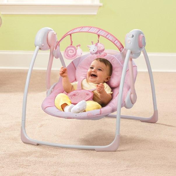 Электронные качели для новорожденных - рейтинг 2019 года