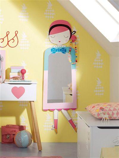Зеркала в детской - дизайн, функциональность и безопасность