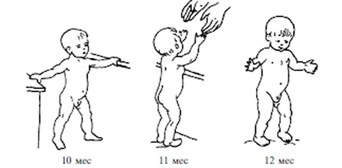 Как научить ребенка самостоятельно ходить и когда он к этому готов?