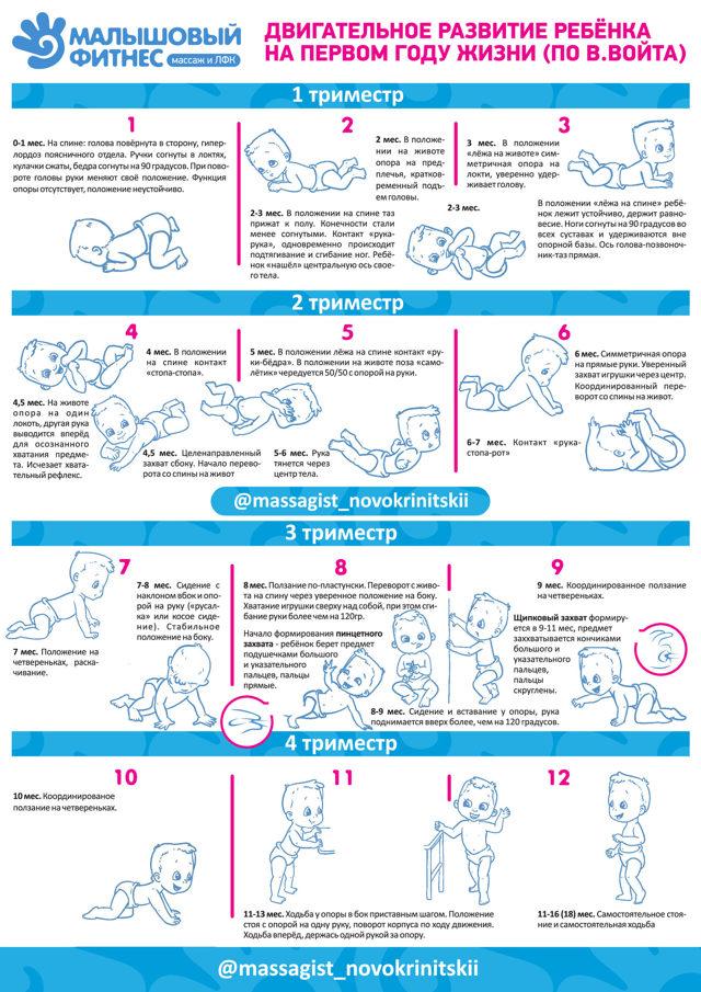 Развитие ребенка в 1 год: что умеет годовалый малыш