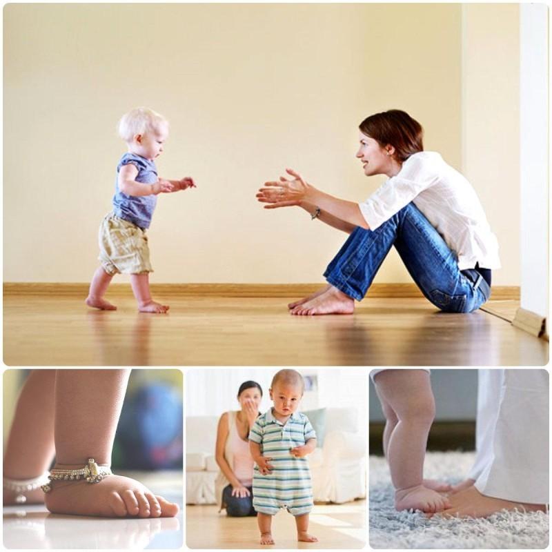 Как научить ребенка ходить: самостоятельно и без поддержки, основные упражнения, в 9, 10, 11 и 12 месяцев, советы комаровского