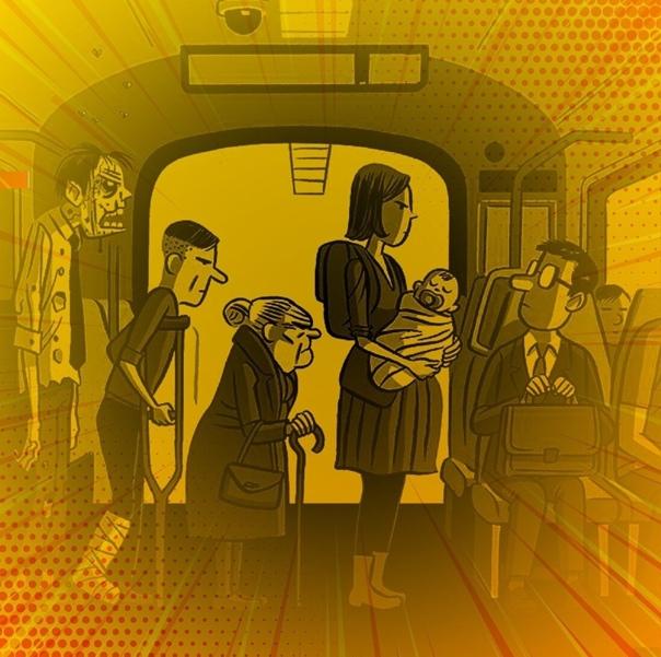 Тест: кому вы уступите место в общественном транспорте? :: инфониак