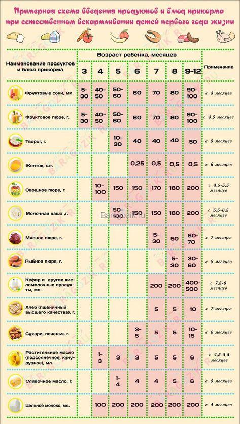 Здоровье ребенка от 2-х до 6-и месяцев