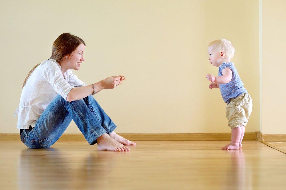 Как научить ребенка ходить   уроки для мам