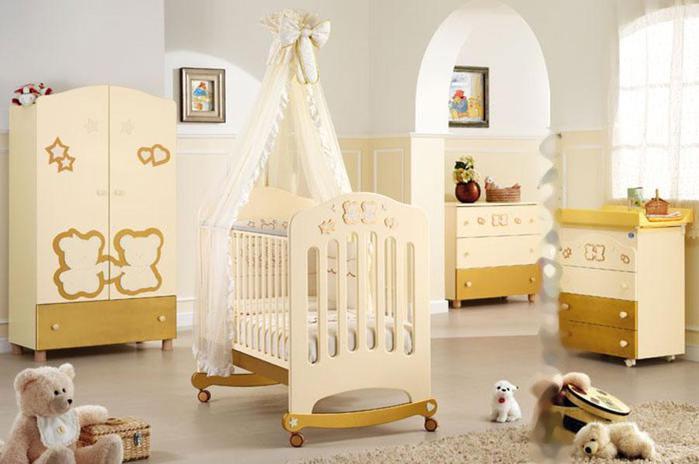 Приставная кроватка для новорожденных: виды и правила выбора