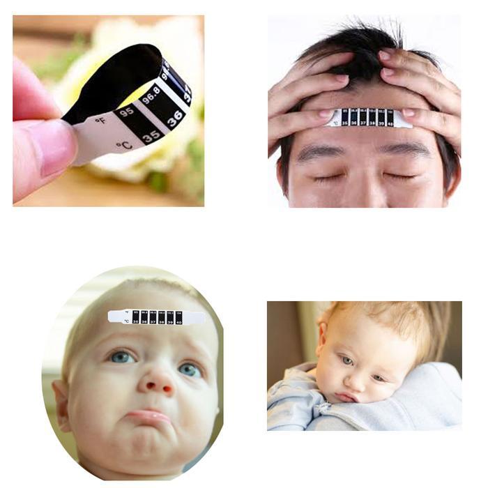 Стикер на лоб - новый способ измерить температуру - kpoxainfo.ru