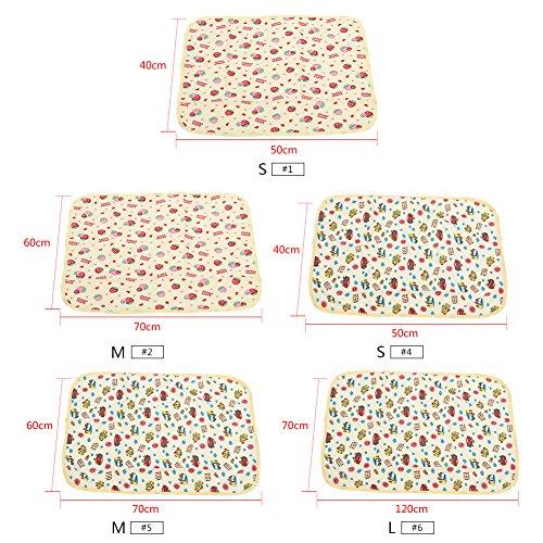 Размеры детских пеленок новорожденных: стандартный для пеленания, таблица по месяцам