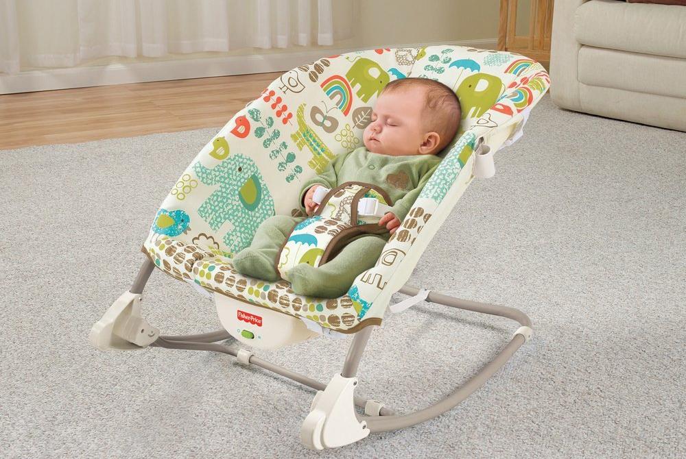 Какие электронные  качели шезлонг для младенцев лучше выбрать и стоит ли их покупать