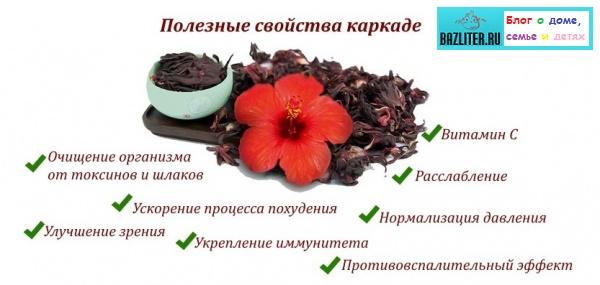 Чай каркаде польза и вред для детей