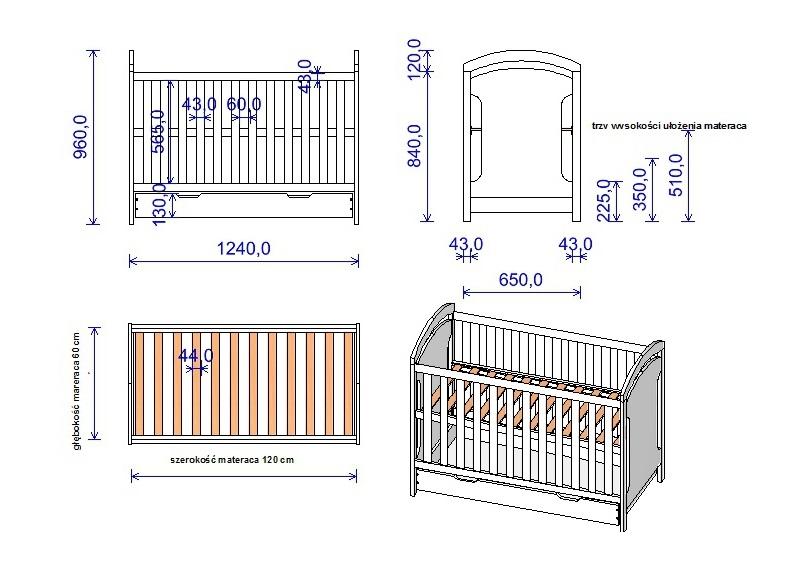 Выбор детской кровати, какие бывают конструкции, материалы, высота и размер, как правильно выбрать