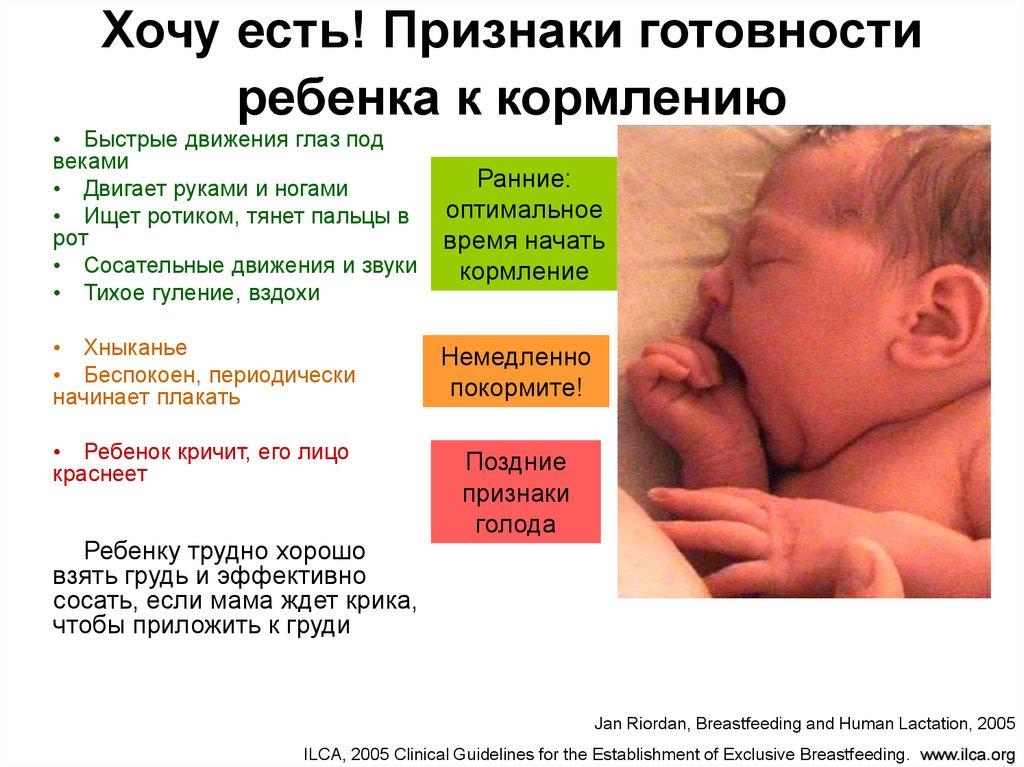 Как понять, что ваш ребенок наелся грудным молоком
