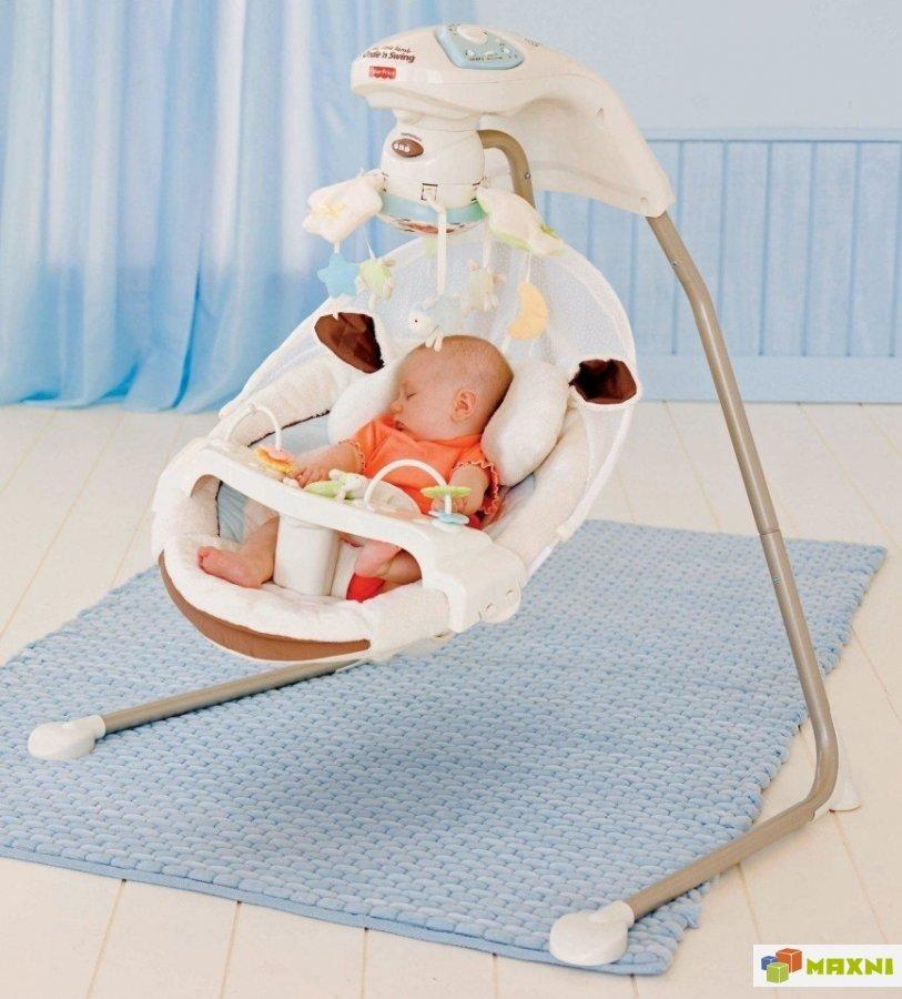 7 лучших электронные качелей для новорожденных