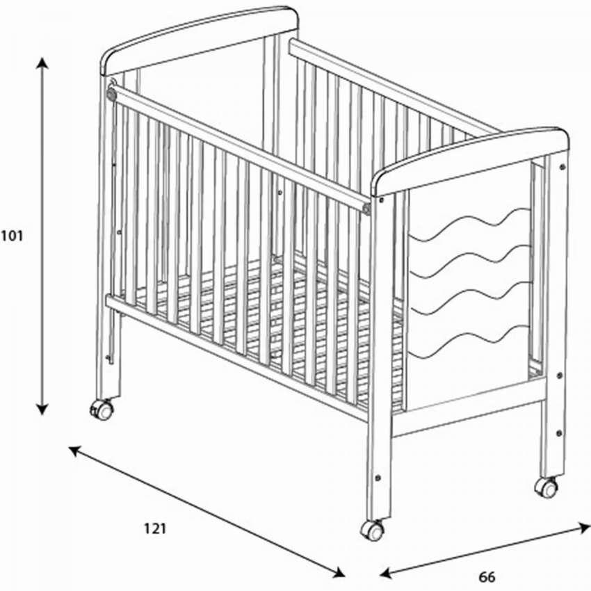 Кроватка для новорожденного ребенка — виды моделей и правила выбора