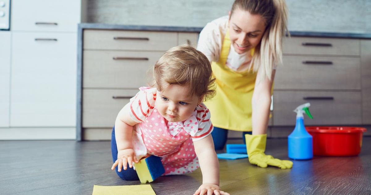 Как заставить ребёнка убираться