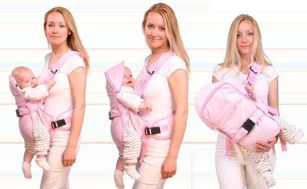 Кенгуру для новорожденных: со скольки месяцев можно использовать, как правильно носить ребенка, лучшие модели